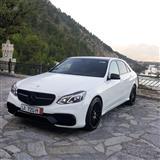 Mercedes benz e class 220 look 63 amg