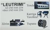 Tenda Karrika Tavolina Zerim dhe Tupana