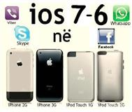 IOS 7 në iPhone 3G iPhone 2G Servis Apple etj.