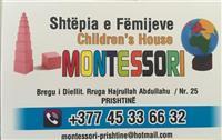 Shtepia e femijeve Montessori hap Konkurs