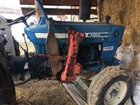 Shitet ose ndrrohet traktori ford 4100