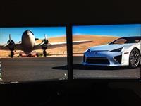 Shitet kompjuteri Gaming komplet bashk me 2 ekrana
