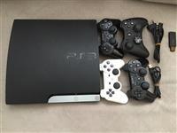 Shitet PS3 me qip+4 gjystika+10 lojra super qmim