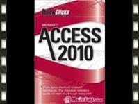 Access 2010 video training.