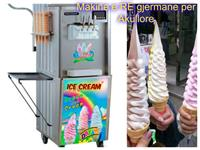 Makine gjermane e Re per Akullore