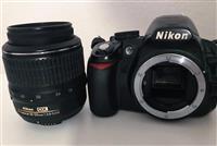 Nikon D3100 + 18-55mm f/3.5-5.6 AF + 18-70