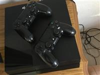 Sony Playstation 4 me 2Kontrollera dhe 4 Lojra