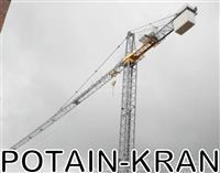 Kran FM 1245 CTY - ''POTAIN KRAN''