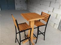 Karrika,tavolina,shankerica per terase