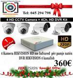 Kamera dhe Alarm te vjedhjes