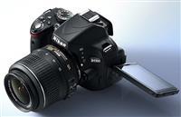 Shes Nikon D5100 me lente 18-55mm f3.5