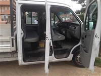 Shes Opel Movano dupell kabin 2.5 diesel