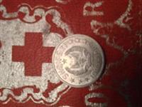 10 Qindarka monedhe e vjeter e Shqiperris 1969