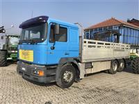 Kamion MAN 26-414 -99 Me Kran I SHITUR