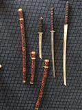 Seti i shpatave samurai