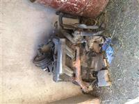 Motorr i MB mercedes