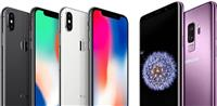 Blejm iPhone dhe Samsung