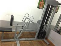 Fitness komplet paisjet