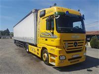 Mercedes Benz Actros Kamion - Schmitz Cargobull