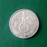 2 mark 1938 Svastika srebro