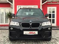 BMW X3 2.0 diesel M-paket 2012