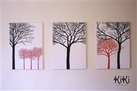 Pikture moderne pune dore