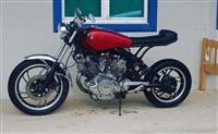 Yamaha Virago 750cc Caffe Racer.