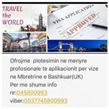 Bejme plotesimin e aplikacioneve per vize ne Angli