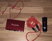 Audio Interface Scarlett Focusrite (E SHITUR)