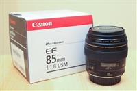 Canon 85mm lens F1.8