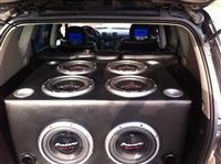 bass pioneer 8400 w perforcues lanzar max 4000 w