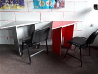 12 Tavolina pune me gjith karriga