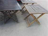 Tavolina per lokale dhe kopshte