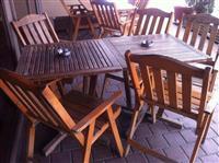 Karrika dhe tavolina JYSK