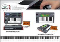 Midi Keyboard Controller 25
